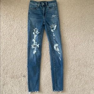 Ripped American Eagle jeans